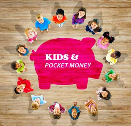 Kids and pocket money