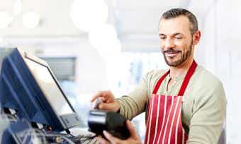 Merchants services for small businesses
