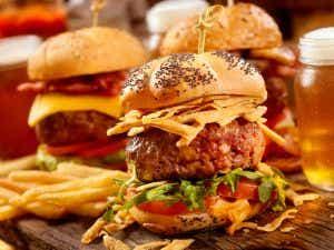 Burgers gourmet sliders