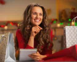 Christmas shopping prepping