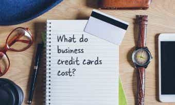 What do business credit cards cost?