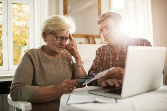Older couple's credit card cost more than expected