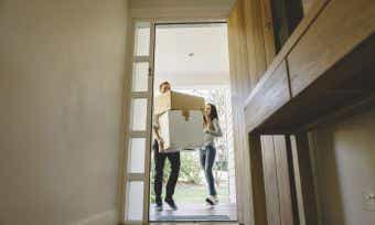 Moving into your first home
