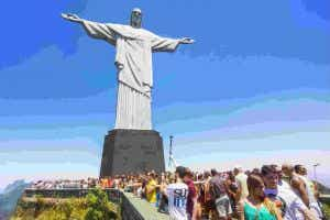 Brazil tourists