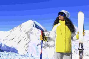 Skiing trip travel insurance