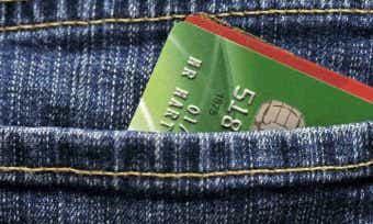 Card in pocket