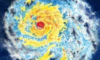 Cyclone storm system