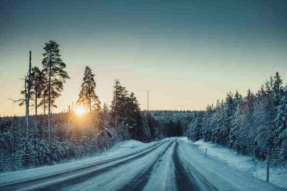 Black Ice driving hazards