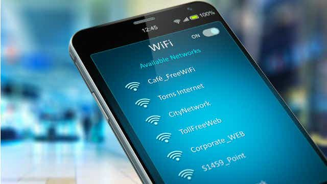 mobile banking public wifi