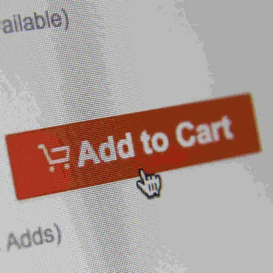 Add to cart button online shopping