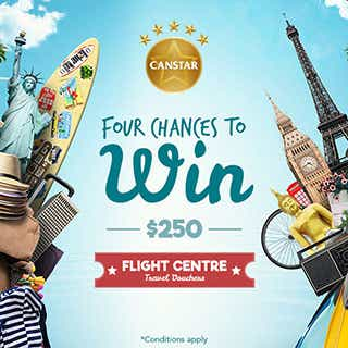 Canstar 2016 Flight Centre Travel Voucher Promotion