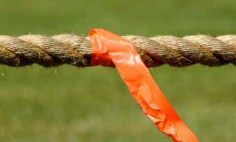 Tug-of-war with rope