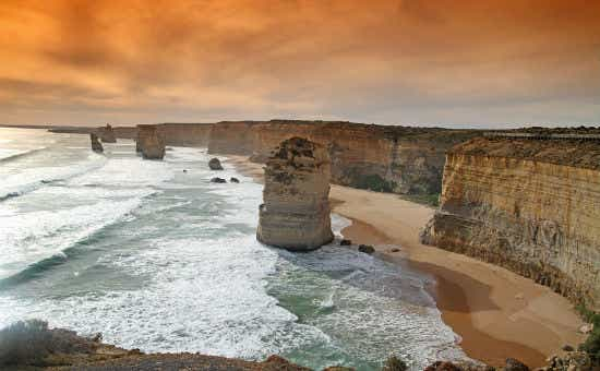 The Twelve Apostles are a key attraction of the Great Ocean Road.