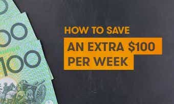 How to save an extra $100 per week