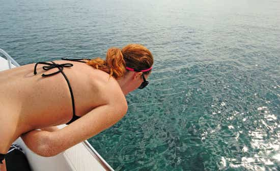 Seasickness can make it rather hard to enjoy your holiday.