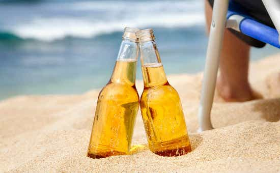 A few beers on the beach could end up costing you a hefty little sum if something goes wrong.