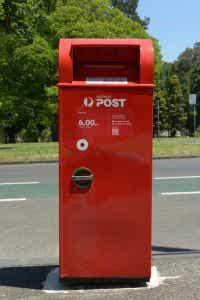 Australia Post post box