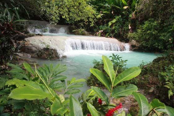 Mele Cascades Waterfall Port Vila Vanuatu