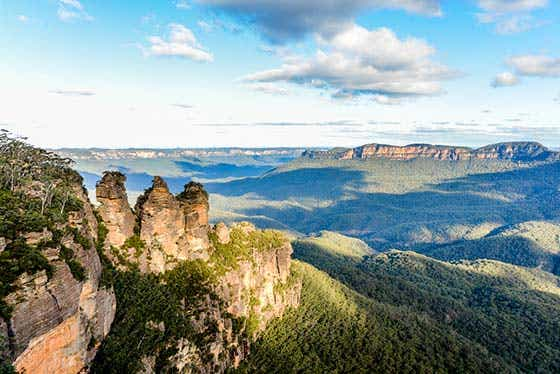 visit the blue mountains this easter