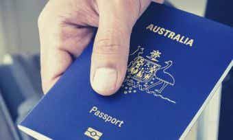 Where are Australians travelling to?