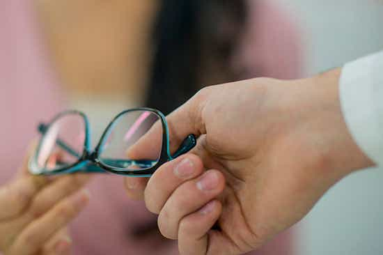 glasses are not covered by medicare or OSHC
