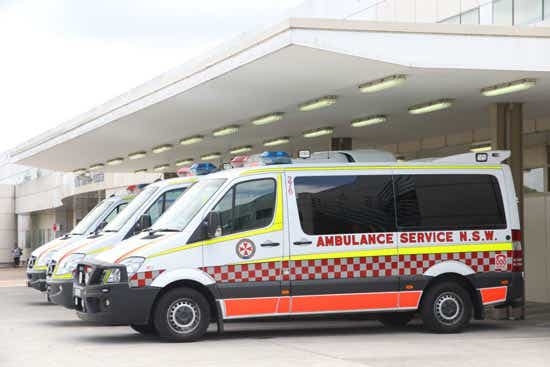 health insurance cover for ambulance transportation