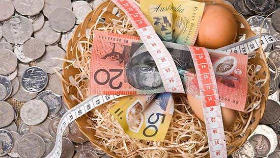 Superannuation eggs