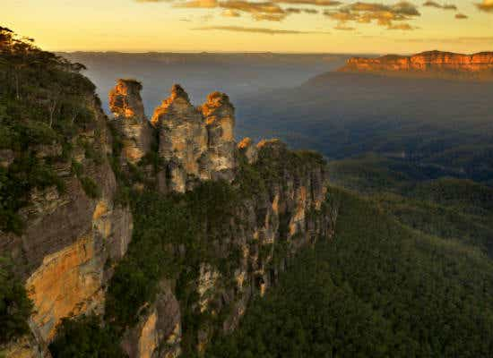 Three Sister Rock Formation Blue Mountains