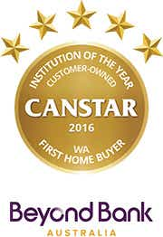 Beyond Bank wins Customer Owned Institution of the Year for First Home Buyers - WA