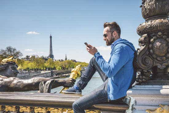 International roaming on your phone