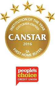 People's Choice wins Customer Owned Institution of the Year for First Home Buyers - SA