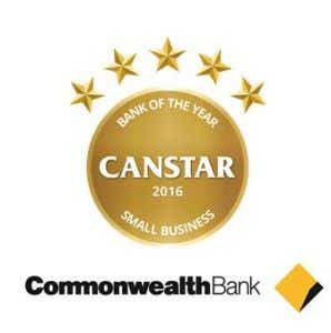 Commonwealth bank wins 2016 Canstar Bank of the Year - Small Business Award