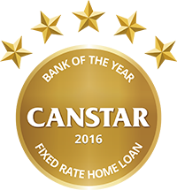 2016 Canstar Bank of the Year - Fixed Home Loan