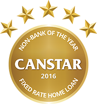 2016 Canstar Non-Bank of the Year - Fixed Home Loan