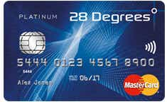 28 Degrees Platinum MasterCard