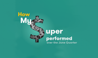 how mysuper performed in June 2016