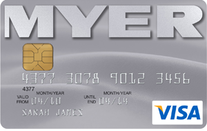 Myer Visa Credit Card