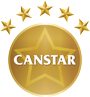 Official Canstar Gold Logo 90px