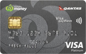 Woolworths Money Qantas Credit Card