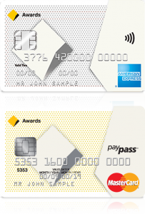 CommBank Awards Credit Cards