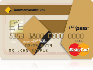CommBank Low Fee Gold Credit Card
