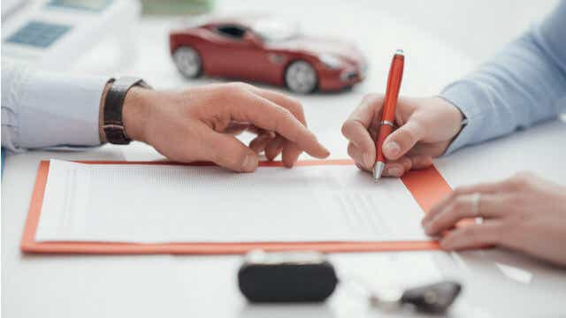 car loan how it works contract