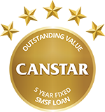 CANSTAR - Outstanding Value - SMSF Loan - 5 Year Fixed