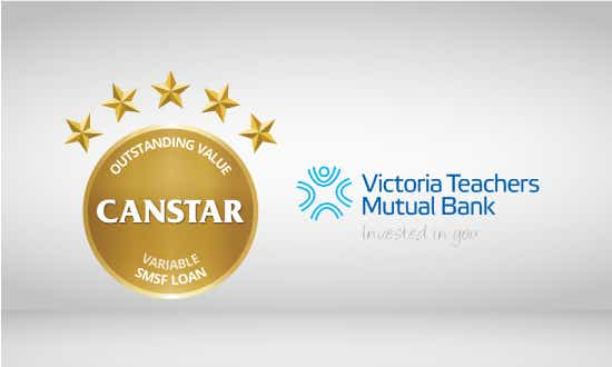 Victoria Teachers Mutual Bank wins 2016 Canstar Outstanding Value Variable SMSF loan