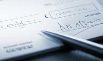 cheque use declining