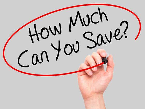 what does a savings account cost