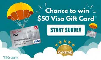 Canstar Survey - Chance to win