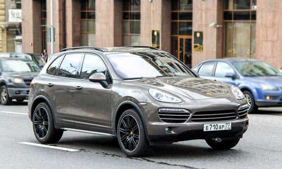 Porsche Cayenne Depreciation Rate