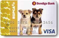 rspca bendigo bank rescue visa