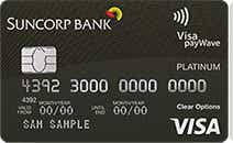 suncorp platinum credit card